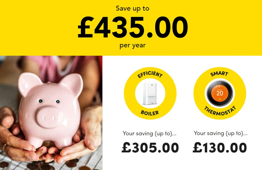 Interest free Combi boiler deals
